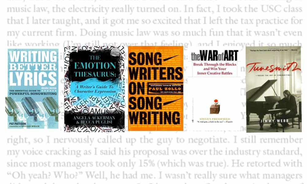 Five books about songwriting