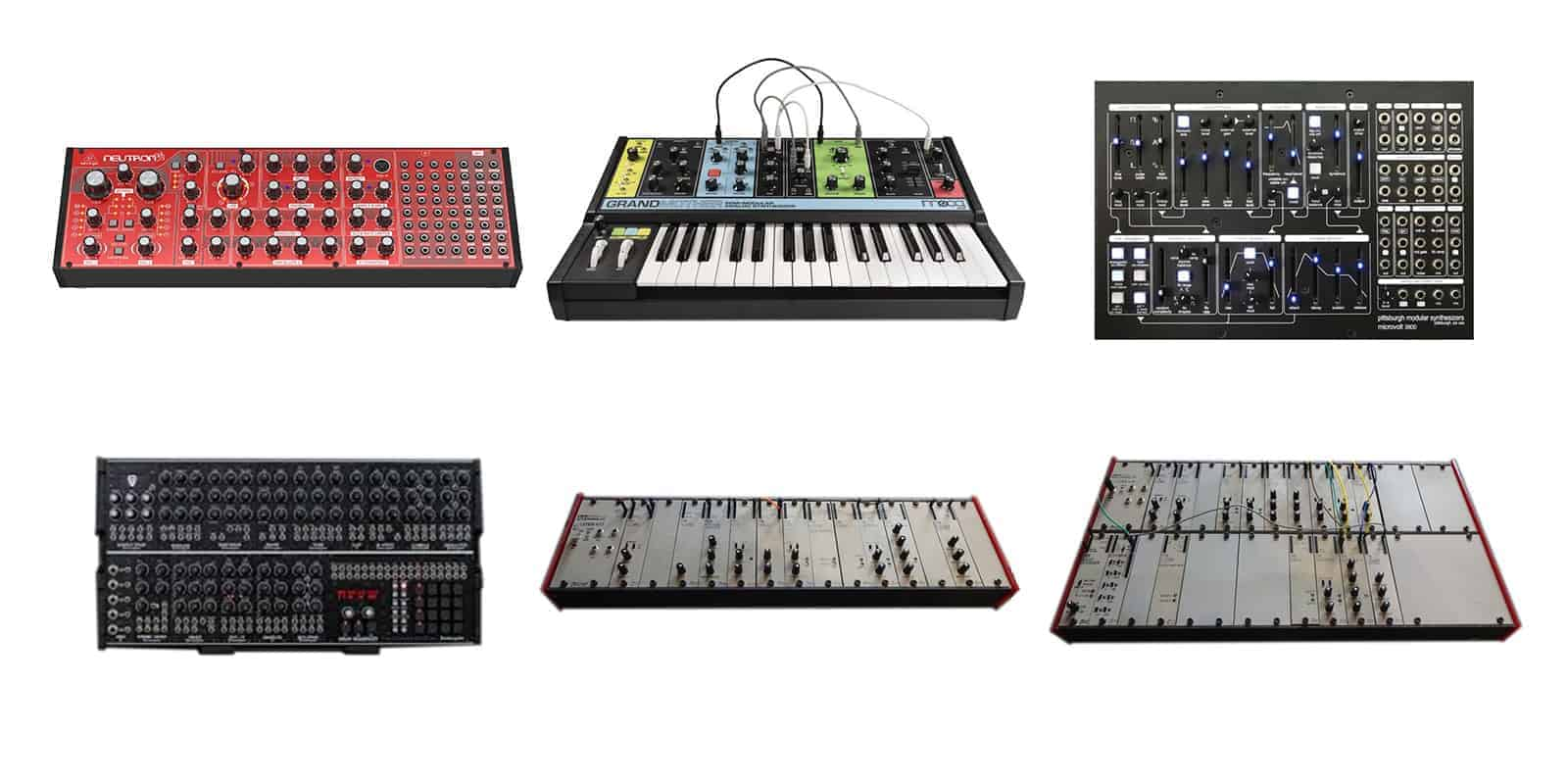 Six of the best modular synthesizers