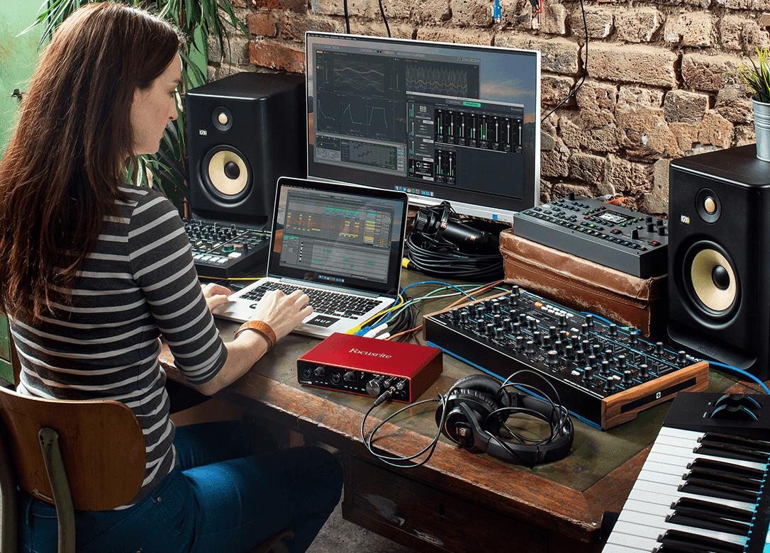 Focusrite studio